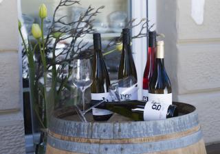 Wein-Probe mit der Pfalz